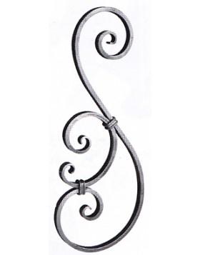 Element fier forjat - ornament s [cod: 1808/3]