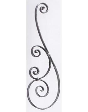 Element fier forjat balcon [cod: 62/1]