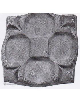 Element fier forjat - placa de mascare [cod: 802/4]
