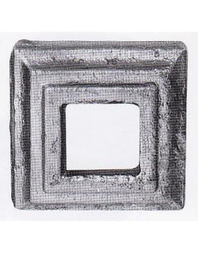 Element fier forjat - placa de mascare [cod: 819/1]
