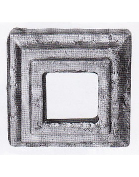 Element fier forjat - placa de mascare [cod: 819/2]