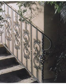 Balustrada fier forjat [cod: balustrada/9]